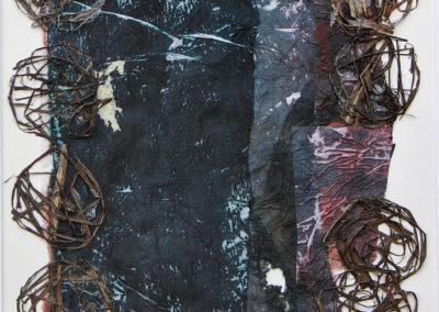 Minéral Végétal collages - Carmen Groza
